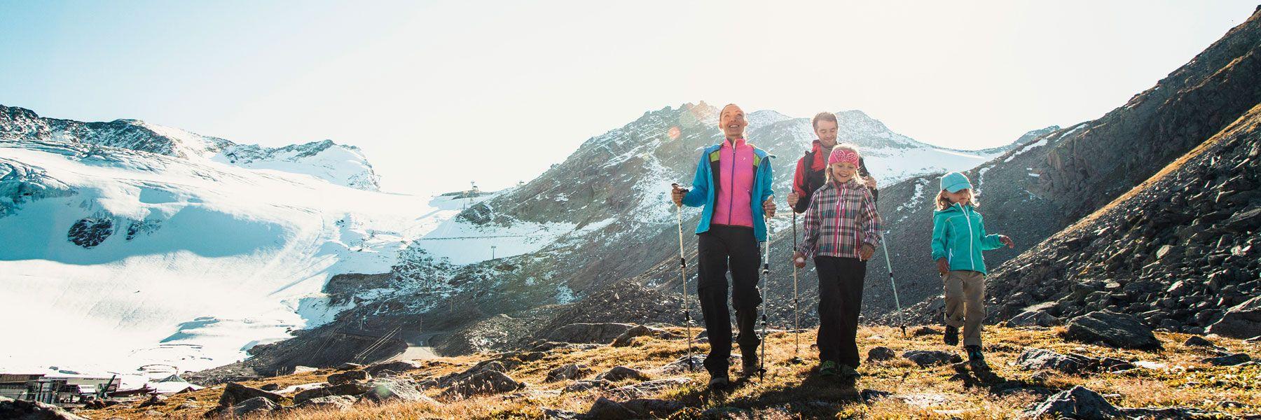 Wandern in den Ötztaler Bergen